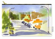 Main Street In Evening Shadows Carry-all Pouch