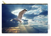 Majestic Bird Against Sunset Sky Carry-all Pouch