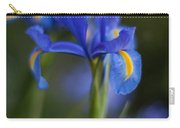 Majestic Blue Iris Carry-all Pouch