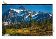 Majestic Mount Shuksan Carry-all Pouch by Inge Johnsson