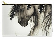 Majestic Mustang Horse Series #51 Carry-all Pouch by AmyLyn Bihrle