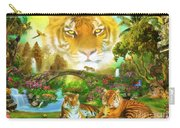 Majestic Tiger Grotto Carry-all Pouch
