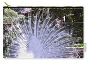 Majestic White Peafowl Carry-all Pouch