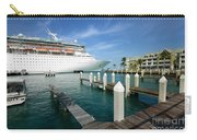 Majesty Of The Seas Docked At Key West Florida Carry-all Pouch