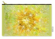 Make A Wish In Greenish Yellow Carry-all Pouch
