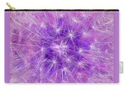 Make A Wish In Purple Carry-all Pouch