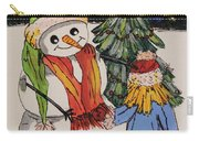 Make A Wish Snowman Carry-all Pouch