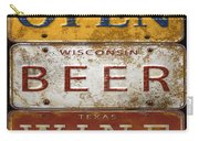 Bar Open-license Plate Art  Carry-all Pouch