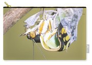 Malachite Butterfly Emerging 4 Of 6 Carry-all Pouch