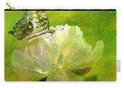 Malachite On Peony Carry-all Pouch