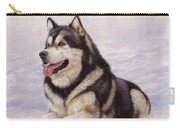 Malamute Carry-all Pouch by David Stribbling