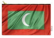 Maldives Flag Carry-all Pouch