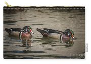 Male Adult Wood Ducks Carry-all Pouch