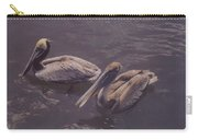 Male And Female Pelicans Carry-all Pouch