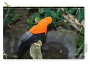 Male Andean Cock-of-the-rock Carry-all Pouch