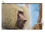 Male Baboon Carry-all Pouch