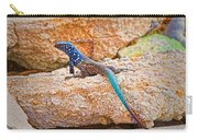Male Bonaire Whiptail Lizard Carry-all Pouch