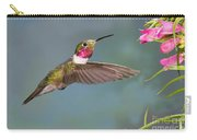 Male Broad-tailed Hummingbird Carry-all Pouch