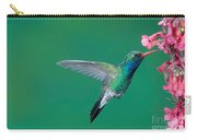 Male Broadbill Hummingbird Hovering Carry-all Pouch