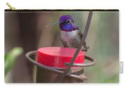 Male Costa Hummingbird Carry-all Pouch
