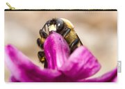 Male Eastern Carpenter Bee Feeding 2 Carry-all Pouch
