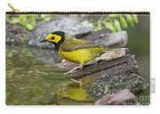 Male Hooded Warbler Carry-all Pouch