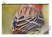 Male House Finch - Digital Paint Carry-all Pouch