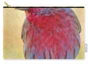 Male Housefinch - Digital Paint Carry-all Pouch