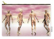 Male Muscular System From Four Points Carry-all Pouch