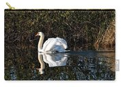 Male Mute Swan Carry-all Pouch