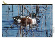 Male Northern Shoveler Lacassine Nwr Carry-all Pouch