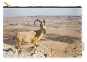 Male Nubian Ibex Capra Ibex Nubiana 1 Carry-all Pouch