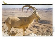 Male Nubian Ibex Capra Ibex Nubiana Carry-all Pouch