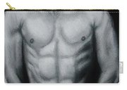 Male Nude Study Carry-all Pouch