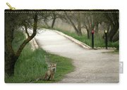 Male Red Fox Vulpes Vulpes Carry-all Pouch