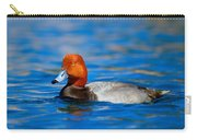 Male Red Head Duck Carry-all Pouch
