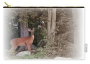 Male Whitetail Deer Carry-all Pouch
