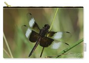 Male Widow Skimmer Dragonfly Carry-all Pouch