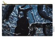 Maleficent In Winter's Woods Carry-all Pouch