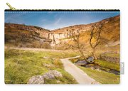 Malham Cove In Malhamdale Carry-all Pouch