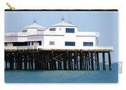 Malibu Pier On A California Blue Sky Day Carry-all Pouch