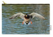 Mallard Drake Approaching Carry-all Pouch