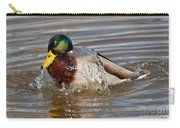 Mallard Drake Bathing Carry-all Pouch