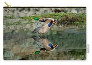 Mallard Drake Takes Off Carry-all Pouch