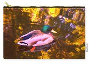 Mallard Duck On Pond 1 Carry-all Pouch
