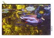 Mallard Duck On Pond 2 Carry-all Pouch