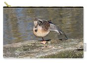 Mallard Duck Stretch  Carry-all Pouch