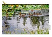 Mallard Ducks In Heron Pond In Grand Teton National Park-wyoming  Carry-all Pouch