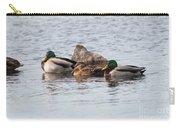 Mallard Ducks Sleeping Carry-all Pouch