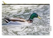 Mallard In Froth Carry-all Pouch